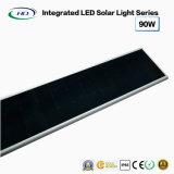 Luz de rua solar completa 90W do diodo emissor de luz do poder superior