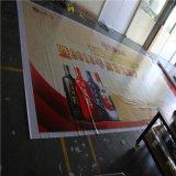 Drapeaux de coup de PVC de maille, drapeau de vinyle de canevas de frontière de sécurité, enveloppes de construction annonçant le drapeau de maille