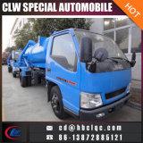 Caminhão do vácuo do caminhão de petroleiro do esgoto de Jmc 3m3 4m3