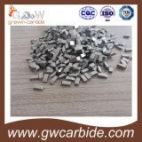 O carboneto de tungstênio viu pontas para a madeira e o alumínio duros