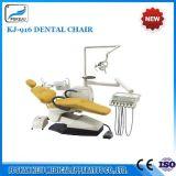 Блок Kj-918 стула зубоврачебного оборудования аттестации Ce реальный кожаный зубоврачебный