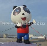 Gigante que hace publicidad del globo inflable de la historieta de la panda para el uso al aire libre K2091