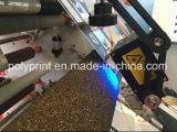 Máquina que raja de alta velocidad de la película plástica