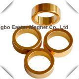Magneet van de Ring van het Neodymium van het gouden Plateren de Permanente