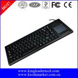 Teclado plástico industrial vendedor caliente con el Touchpad integrado