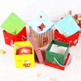 Коробка изготовленный на заказ подарка рождества Cmyk бумажная