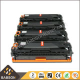 Cartuccia di toner della m/c di colore di vendita diretta della fabbrica per il prezzo competitivo dell'HP CB540A/CB541A/CB542A/CB543A (125A)/campione libero