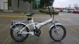 bicicletta piegante elettrica verde 250W da vendere
