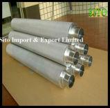 Filtre de tissage de treillis métallique de l'acier inoxydable 316