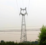 Башня трубы передачи силы и стали угла