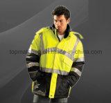 Куртка безопасности водоустойчивых людей отражательного полиэфира высокого качества