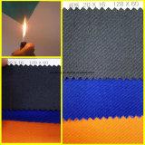 Workwearのための100%年の綿の耐火性および反静的なファブリック