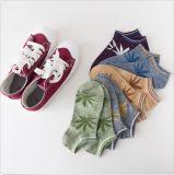 Ahornblatt-romantische Tief-Schnitt-Kleid-Socke