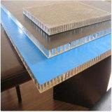 Los paneles incombustibles de aluminio de la espuma acústica del papel de aluminio de la base de panal (HR374)