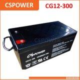 Fabricante da bateria 12V300ah do gel para os sistemas de energia solares Cg12-300