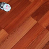 Pavimentazione laminata grigia delle strisce di colore