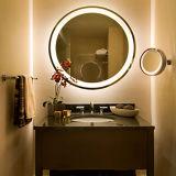 현대 호텔 목욕탕 큰 주문을 받아서 만들어진 크기 LED 가벼운 미러