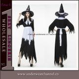 Costume sexy del vestito di carnevale delle ragazze di Halloween dalla strega operata adulta del partito (TLZQ6511)