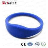 Del hitag 1 Blue RFID de silicona pulsera de la pulsera de reloj de la forma