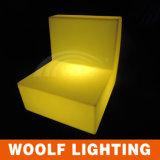 Sofá casero del plástico del LED