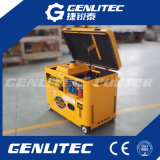 Petit générateur 5kVA diesel silencieux refroidi par air