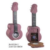 ギターの形単一の木の包装ボックス腕時計の回転子の腕時計の巻取り機
