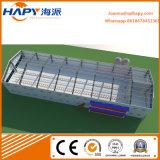 Prefab ферма цыпленка стальной структуры полиняла с оборудованиями полных комплектов