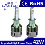 Auto Headlamp LED Bulb H1 Single Beam para todo o carro