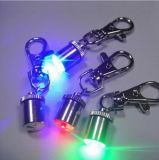 Pendente de piscamento do sinal do colar de cão do animal de estimação do diodo emissor de luz da segurança do estilo de Keychain