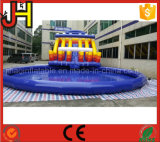 Parque inflable gigante modificado para requisitos particulares del agua para la venta
