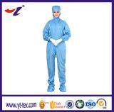 Combinaison 2017 antistatique de vêtements de vêtement de salopette de DÉCHARGE ÉLECTROSTATIQUE de Cleanroom