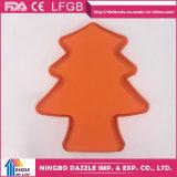 Moulage de gâteau d'enfants de gâteau de silicones de forme d'arbre de Noël