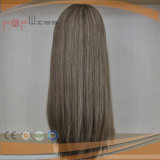 100%純粋なカラー最も売れ行きの良い等級のRemyの毛の絹の上の女性のかつら(PPG-l-0871)