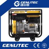 Охлаженный воздухом генератор двигателя дизеля 6kw с электрическим стартом