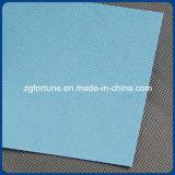 Tela di canapa opaca del poliestere del tessuto stampata Digitahi dell'acqua della base della parte posteriore impermeabile dell'azzurro