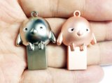 Metal Mini Fancy Chicken USB Drives (OM-M277)