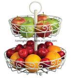Obst und Gemüse Korb-Standplatz-Bildschirmanzeige-Zahnstange
