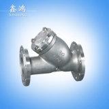 O aço 304 inoxidável flangeou a válvula Dn40 do filtro feita em China