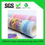 Washi 테이프를 인쇄하는 주문 패턴