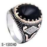 Anéis de prata dos homens da venda por atacado 925 da fábrica da jóia da forma