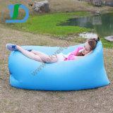 Sofa paresseux remplissant libre en nylon d'air de tissu et d'air