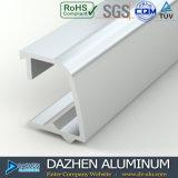 Profil en aluminium de prix usine pour la porte de guichet sur le marché de l'Algérie