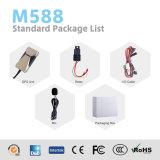 Perseguidor estable del vehículo del GPS con el relais libre /Sos inferior/micr3ofono para el coche M588