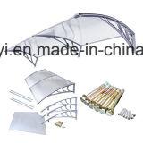 Тенты хозяйственного напольного поликарбоната DIY пластичные (YY1200-C)
