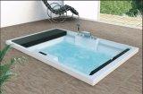 Costruire-nella STAZIONE TERMALE della vasca da bagno di massaggio per 2 persone (AT-0510)