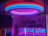 SMD 다채로운 LED 네온 유연한 지구 빛과 관 전진