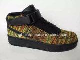 Chaussures élevées d'espadrilles de chaussures d'approvisionnement d'usine de chaussures de marque de coupure
