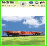سكك الحديد عربة مسطّحة; عمليّة شحن عربة مسطّحة; عربة لأنّ عمليّة بيع, يستعمل شقّ