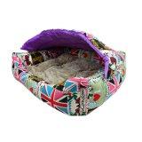 Neue Form verfolgt Höhle mit Deckel-Luxuxhaustier-Produkt-wasserdichtem Hundebett
