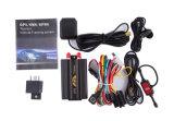 Sistema de seguimento aberto Tk103 do GPS do alarme do CRNA Working&Fuel&Door para a gerência da frota de veículo